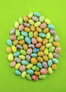 Speckled Candy Easter Eggs Royalty Free Stock Photo