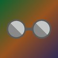 Spectacles icon Royalty Free Stock Photo
