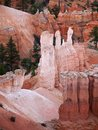 Bryce Canyon Hoodoos Closeup Royalty Free Stock Photo