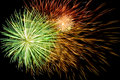 Spectacular fireworks background Royalty Free Stock Photo