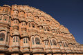 Spectacular Hawa Mahal in Jaipur, India Royalty Free Stock Photo