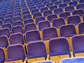 Spectators Seats Royalty Free Stock Photos