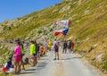 Spectators - Tour de France 2015 Royalty Free Stock Photo