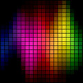 Spectrum spot mosaic Royalty Free Stock Photo
