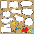 Speech Balloons Royalty Free Stock Images