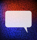 Speech bubble background Stock Images