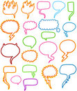 Speech Bubble Set Royalty Free Stock Photos