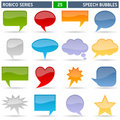 Speech Bubbles - Robico Series Stock Images