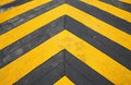 Speed hump road marking Royalty Free Stock Images