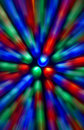 Speed of light Stock Image