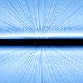 Speed of Light Blast Royalty Free Stock Photo