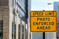 Speed Limit in Chicago Royalty Free Stock Photo