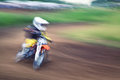 Speed motocross competition for the cup of the sverdlovsk region july Stock Photo
