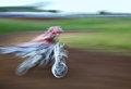 Speed motocross competition for the cup of the sverdlovsk region july Royalty Free Stock Image