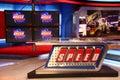 Speed Television Studio Set