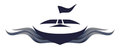 Speedboat Logo Symbol Illustration Royalty Free Stock Photo