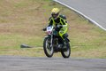 Speeding bike pannala race track in srilanka photo taken on may th Royalty Free Stock Photos