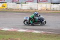 Speeding bike pannala race track in srilanka photo taken on may th Royalty Free Stock Photo