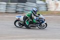 Speeding bike pannala race track in srilanka photo taken on may th Stock Photography