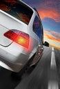 Car speeding Royalty Free Stock Photo