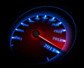 Speedometer 2013 Royalty Free Stock Images