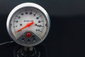 Speedometer in car for measure the velocity equipment gauge control area of driver monitor status with Royalty Free Stock Image