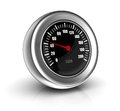 Speedometer sending unit d icon of Stock Images