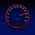 Speedometer a vector illustration design Stock Images