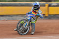 Speedway oem eggendorf austria april ronny weis germany places nd in the austrian championship on april in eggendorf austria Stock Photography