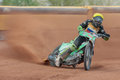 Speedway oem eggendorf austria april ziga radkovic slovenia places th in the austrian championship on april in eggendorf austria Royalty Free Stock Photography