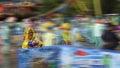 Speedy water fight Royalty Free Stock Photo