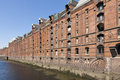 Speicherstadt Hamburg Royalty Free Stock Photo