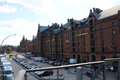 Speicherstadt hamburg the in is a big warehouse complex this part of the is home to several agencies and museums it Royalty Free Stock Photos