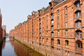 Speicherstadt in hamburg germany is the world s largest timber pile founded warehouse district of the world Stock Images