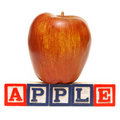 Spelling Apple Stock Photos