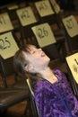 Spelling Bee Finalist Stock Image