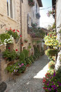 Spello, old street Royalty Free Stock Photography