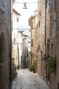 Spello, old street Royalty Free Stock Images