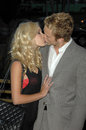 Spencer pratt heidi montag and at the launch party for the tv series scarlet pacific design center west hollywood ca Royalty Free Stock Photos