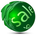Sphere-sale Royalty Free Stock Photography
