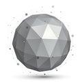 Spherical Vector Monochrome Di...
