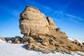 Sphinx, Bucegi Mountains, Romania Royalty Free Stock Photo