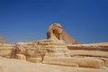 Sphinx in egypt view Royalty Free Stock Photo