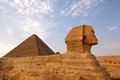 Sphinx of Giza Royalty Free Stock Photos