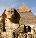 Sphinx at Giza Royalty Free Stock Image
