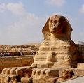 Sphinx of Giza Royalty Free Stock Images