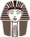 Sphinx Head - Hatshepsut Royalty Free Stock Photo