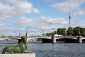 Sphinx malaya neva embankment saint petersburg russia Royalty Free Stock Photography