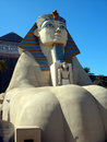Sphinx statue, Luxor Hotel Royalty Free Stock Photos