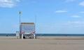 Spiaggia di gruissan Fotografia Stock Libera da Diritti